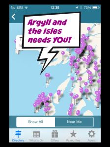 Argyll needs you